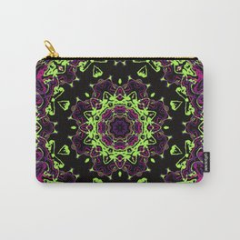 Neon Kaleidoscope 1 Carry-All Pouch