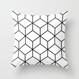 Q-bert Throw Pillow