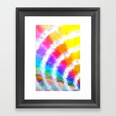 Pantone Color Book Framed Art Print