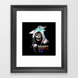 El Huervo - Death's Head Framed Art Print