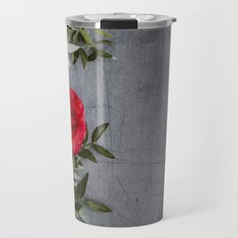 The Red Roses (Color) Travel Mug