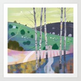 CountryLandscape-02 Art Print
