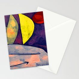 Paul Klee In Position Stationery Cards