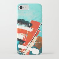skyline iPhone & iPod Cases featuring Skyline by Rafael Galue