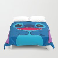stitch Duvet Covers featuring stitch by customgift