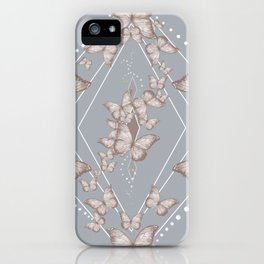 Insecta Pattern - Victorian iPhone Case