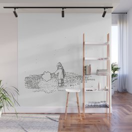Leading along your glow-pet Wall Mural