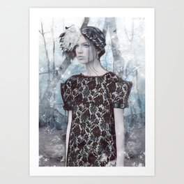 Couture Collection: Isabel Art Print