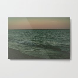 Disappear Into The Deep Metal Print
