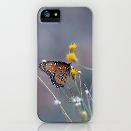 Two Monarch Butterflies iPhone Case