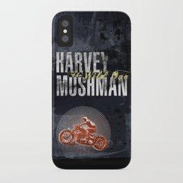 HARVEY MUSHMAN iPhone Case