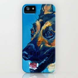 Baron the German Shepherd iPhone Case