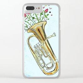 Euphoric Euphonium Clear iPhone Case