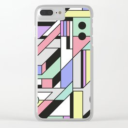 De Stijl Abstract Geometric Artwork 2 Clear iPhone Case