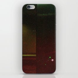 Damaged Disposable Camera Film - Bench iPhone Skin