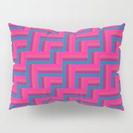 Straight Herringbone - Candy Pillow Sham