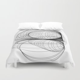 Controled Chaos Duvet Cover