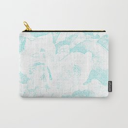 711 Camellias 1-6 Light Blue Carry-All Pouch