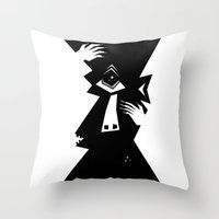 cyclops Throw Pillows featuring Cyclops by 5wingerone