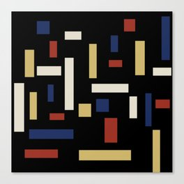 Abstract Theo van Doesburg Composition VII The Three Graces Canvas Print