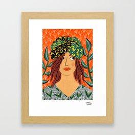 Penelope by Veronique de Jong Framed Art Print