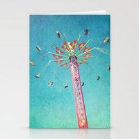 vertigo Stationery Cards featuring vertigo by Sylvia Cook Photography