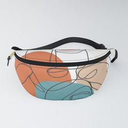 Abstract Faces 28 Fanny Pack