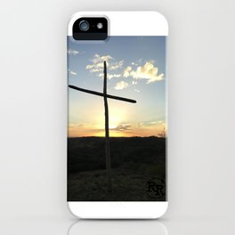 Ruby Ranch Cross iPhone Case