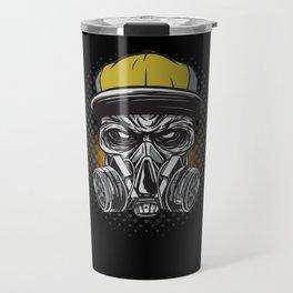 Graffiti Skull Travel Mug