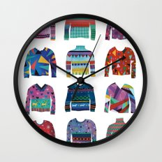 Sweater Poster Wall Clock