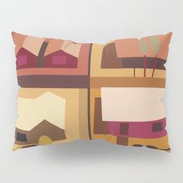 4 Houses Pillow Sham