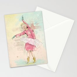 Dancing queen Stationery Cards