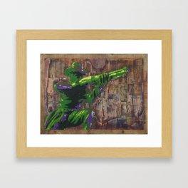 Cowboy Up! Framed Art Print