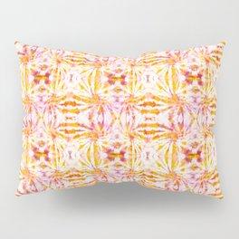 Summer Vibes Tie Dye in Sunrise Orange Pillow Sham