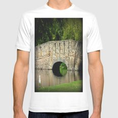 Ambiance Mens Fitted Tee SMALL White