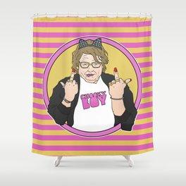 CHEZ BY THE_FAILEDARTIST Shower Curtain