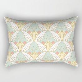Lotus Rectangular Pillow