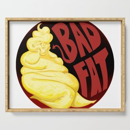 Bad Fat (Red) Serving Tray