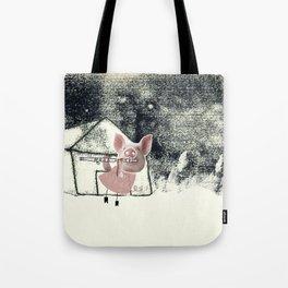 The three little pigs (ANALOG zine) Tote Bag