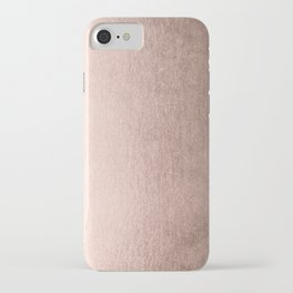 Moon Dust Rose Gold iPhone Case