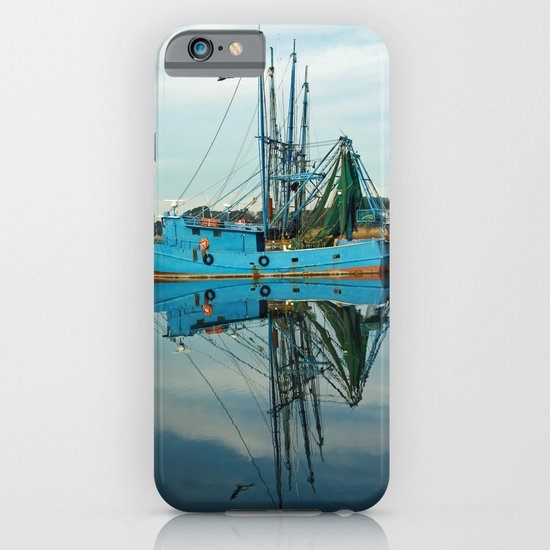 Boat Reflection iPhone & iPod Case