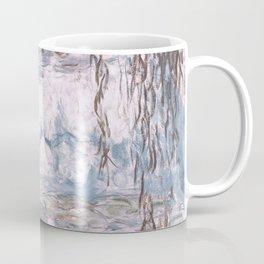 Water Lilies Monet Steel Blue Gray Coffee Mug