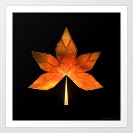 Autumn Leaves: Frame 260 Art Print