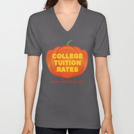 My College Debt Now That's Scary Funny Halloween product Unisex V-Neck