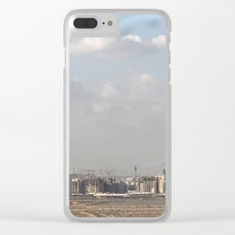 Silicon Oasis View Clear iPhone Case