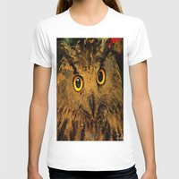 owls T-shirts featuring Owls by Joe Ganech