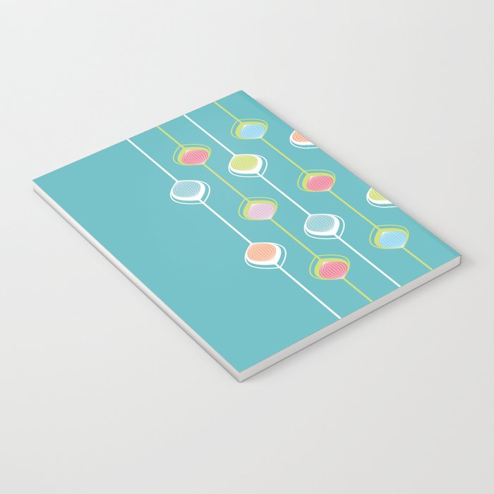 Lampions - Chain Notebook