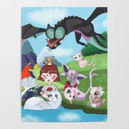 pokefriend Poster