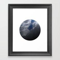 Planetary Bodies - Cloud Ripple Framed Art Print