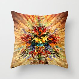 modern composition 10 by rafi talby Throw Pillow